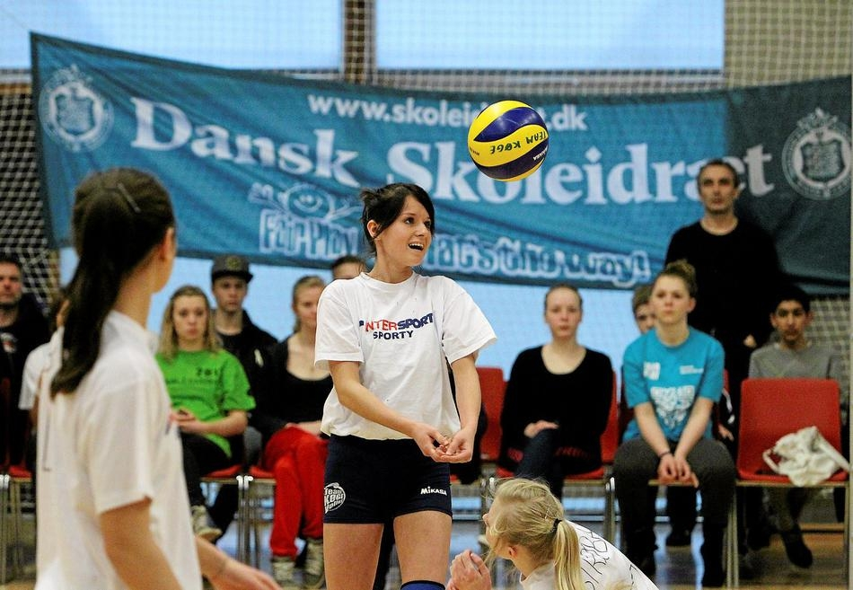Volley TV streamer finalerne ved DM i Skolevolley